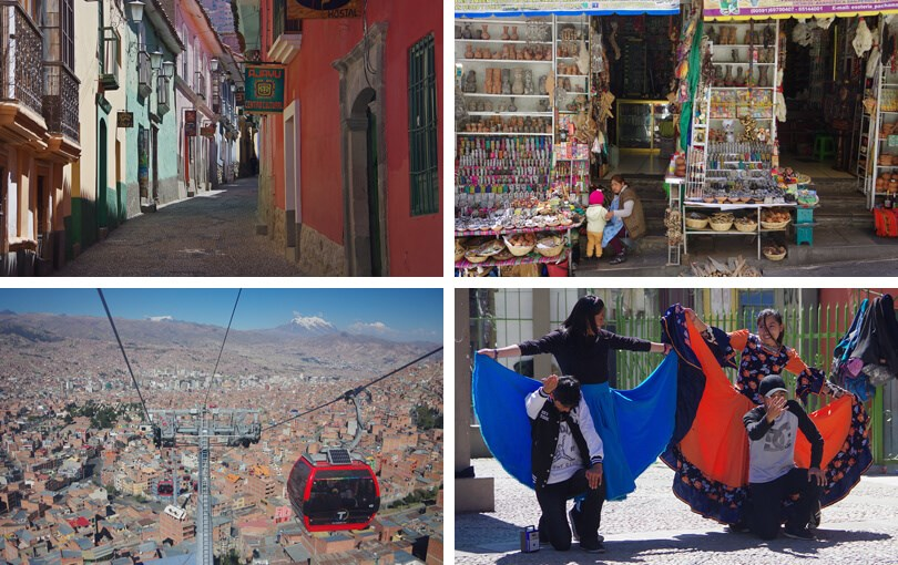 best places to visit in Bolivia - La Paz