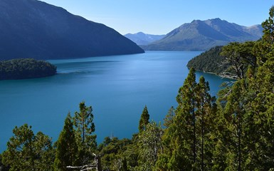 Lake Mascardi, Waterfall & Glacier - Bariloche & Lake District Accommodation