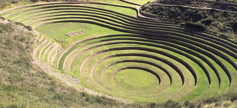 best Inca ruins in Peru - Moray