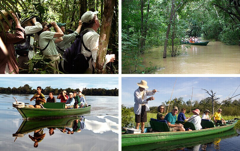 Travellers on Amazon Cruise in Brazil