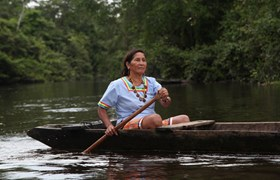 Meet local tribes who live on the Napo River