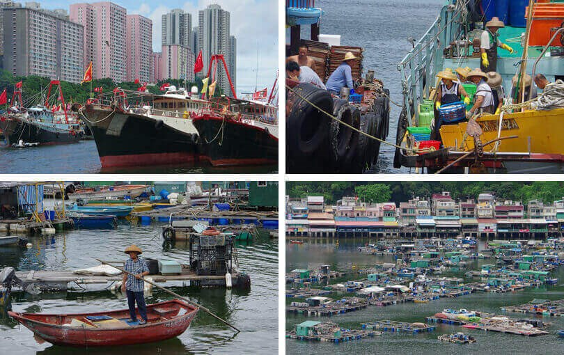 What to do and see in Hong Kong - fishing villages
