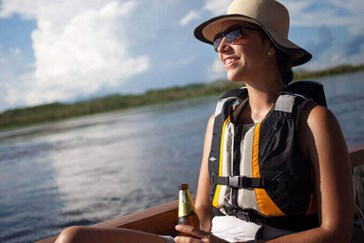 Explore the river by kayak