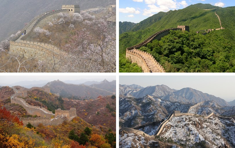 when to visit the Great Wall of China