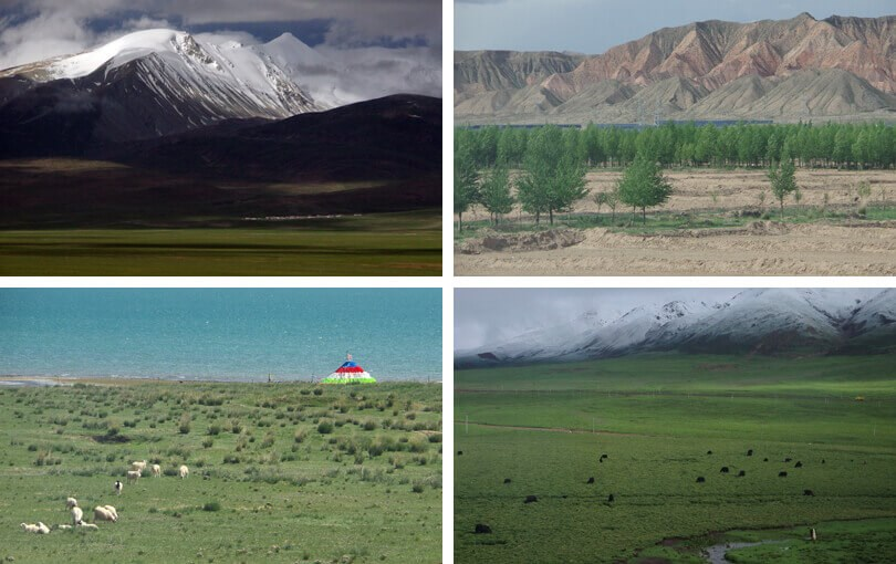 holidays to tibet - train to Lhasa