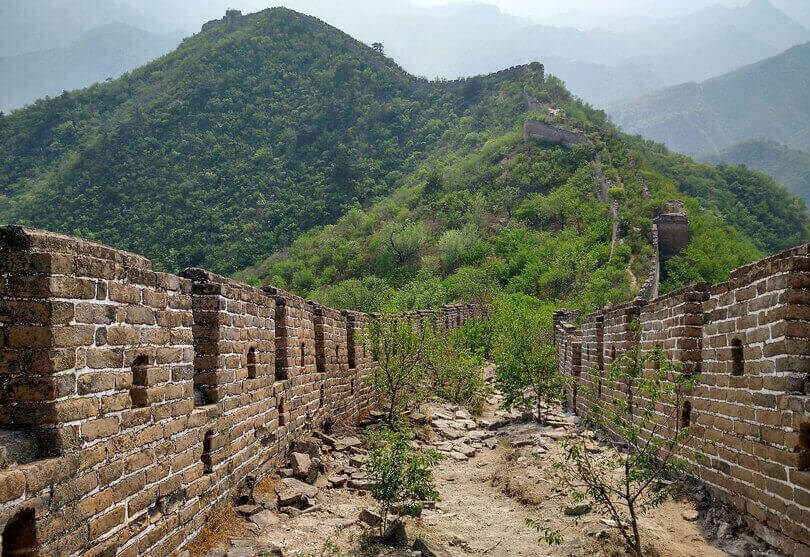 where to walk the Great Wall of China - Huanghuacheng