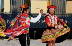 Entertainment on the Andean Explorer