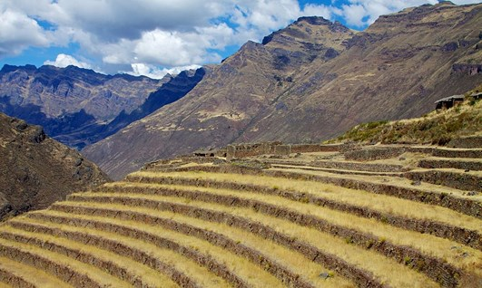 Urubamba Valley Agriculture - Holidays in Sacred Valley of the Incas Peru