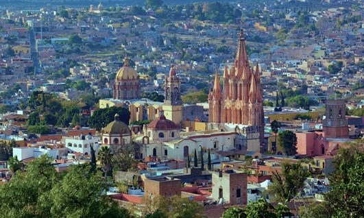 The Viceroy Tour - San Miguel de Allende - Holidays to Mexico