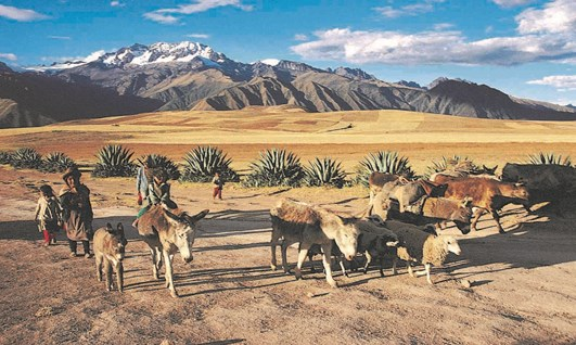 The Pucara Tour - Sacred Valley of the Incas - Holidays to Peru