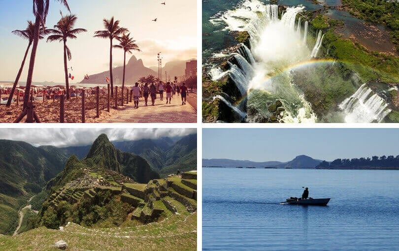South America honeymoon