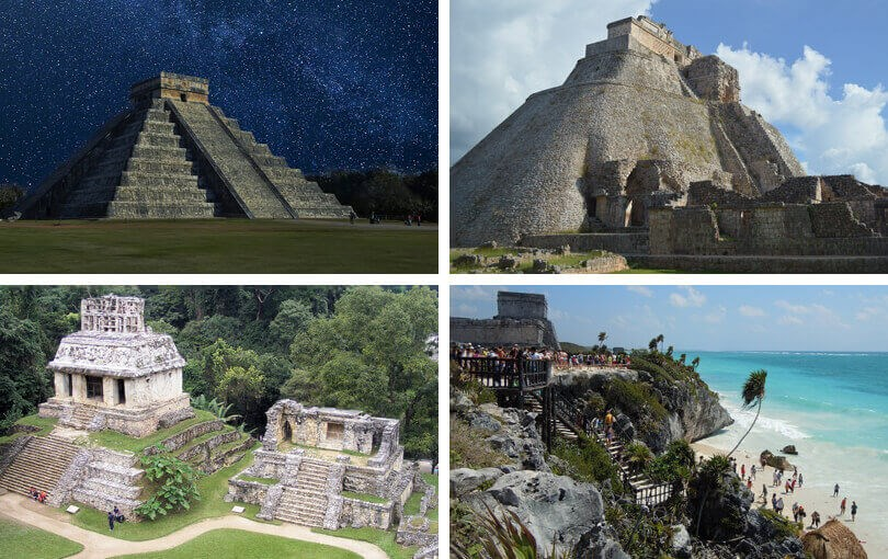 Mayan ruins in Mexico