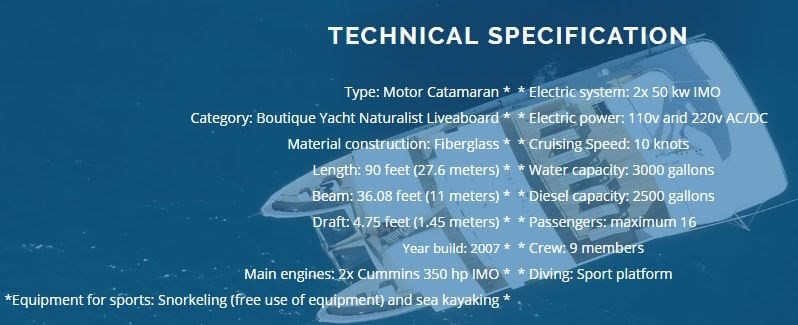 seaman journey technical specs
