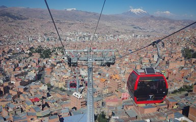 Cable Cars - La Paz Accommodation