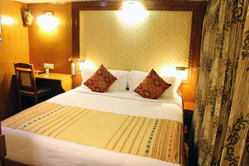 The Mahabaahu cabins have very comfortable beds
