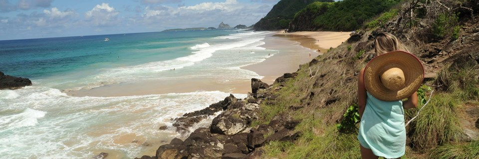 Noronha Beach Mountain